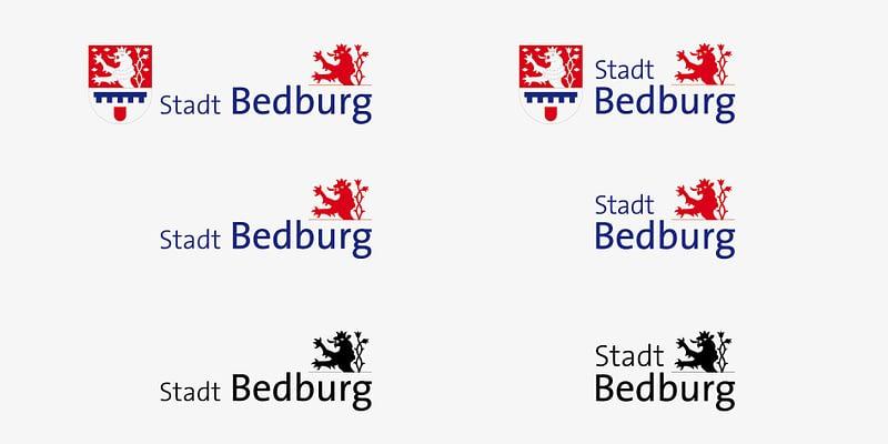 Stadt Bedburg Logo Vielfalt