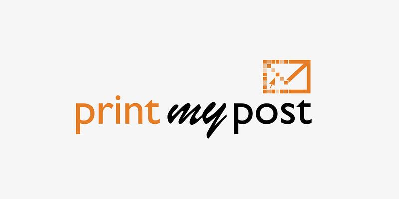 print my post logo erstellung