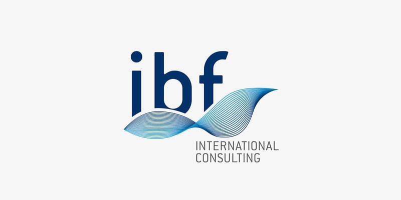 ibf International consulting logo erstellung