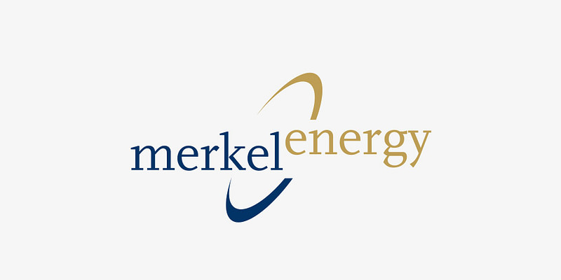 merkel energy logo erstellung