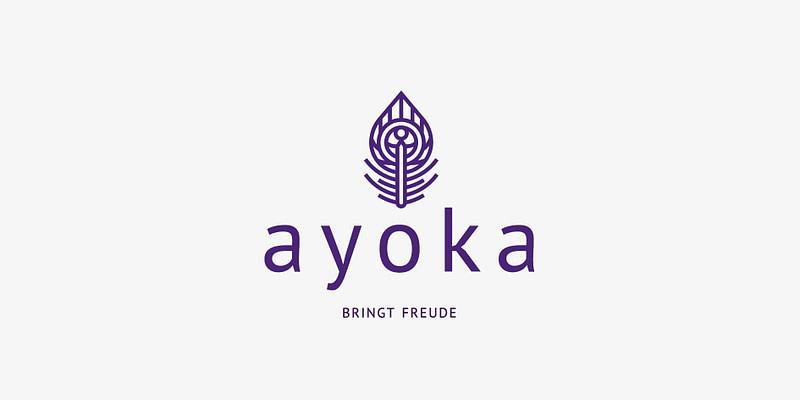 ayoka logo erstellung