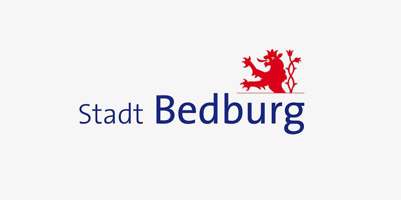 Stadt Bedburg Logo Erstellung